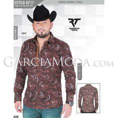 Camisa Lamasini Jeans #ropavaquera #grupero #norteño #westernwear #robertotapia