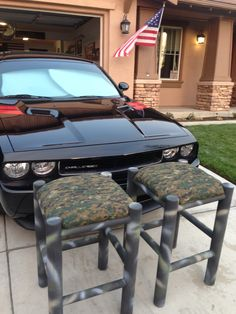 mustang collectors shop stool only each and made