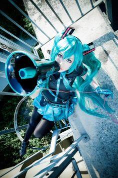 Hatsune Miku(VOCALOID) | HANA - WorldCosplay