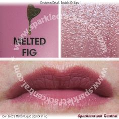 Too Faced's Melted Liquid Lipstick in Fig