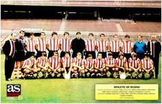 Equipos de fútbol: ATLÉTICO DE BILBAO 1971-72 San Mamés, Athletic Clubs, Sport 2, Football Team, Real Madrid, Dolores Park, Spanish, Travel, 1970s