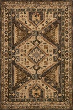 Loloi Victoria VK-07 Walnut/Beige Area Rug – Incredible Rugs and Decor