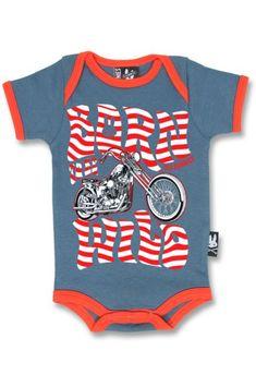 Evolution moto baby grow unisexe bébés combi motocycliste vélos baby