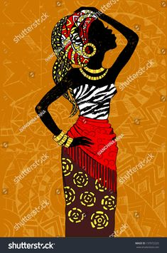 """Find """"african woman silhouette"""" stock images in HD and millions of other royalty-free stock photos, illustrations and vectors in the Shutterstock collection. Woman Silhouette, Silhouette Art, African American Art, African Women, Black Women Art, Black Art, Afrique Art, African Art Paintings, Afro Art"""