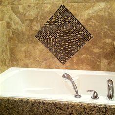 New bathtub and tile...
