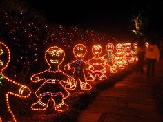 §§§ . gingerbread lights