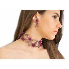 Set Gioielli Sposa con Fiori e Perle - Bridal Jewelry Set With Flowers and Pearls