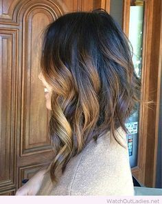 Amazing inverted long bob