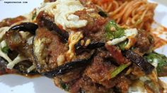 Eggplant Parm Bake #vegan #glutenfree #eggplant #dinner