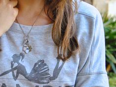 @Alessia Cannella #StyleShout con #Sagapo #fashion #blogger #outfit #necklace #charms #happy #collection