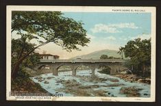 Cali, Spanish Pronunciation, Vintage Postcards, Antique Photos, Santiago, Colombia, South America, Closets, Watercolor Painting