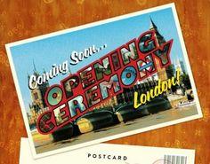 opening ceremony postcard