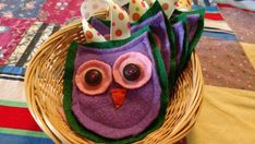 Check out this item in my Etsy shop https://www.etsy.com/listing/506444481/felt-owleaster-basket-fillerspring-decor