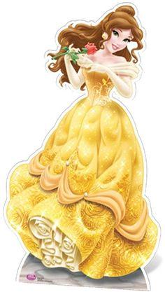 Disney Princess Stand-in (Child Size) Belle, Aurora and Cinderella Lifesize Cardboard Cutout / Standee