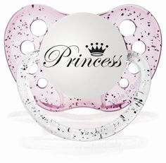 Personalized Baby Girl Princess Pacifier by Personalized Pacifiers, http://www.amazon.com/dp/B00205JY78/ref=cm_sw_r_pi_dp_ogAlrb1FEQFZR