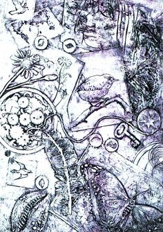 collagraph  Carolynne Coulson from Sweet Studio