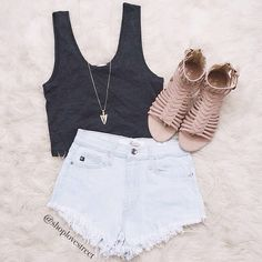 simple cute summer outfit