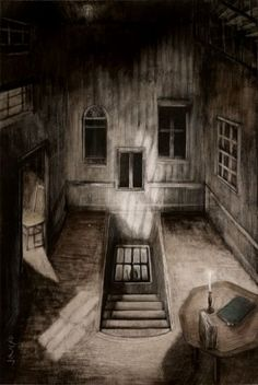 The House of Windows by Santiago Caruso