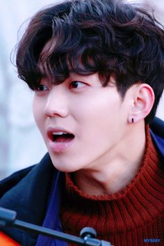 Day6 Dowoon, Park Jae Hyung, Kim Wonpil, Young K, What Day Is It, Wattpad, Korean Celebrities, Asian Boys, Pink Sweater