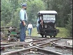 ▶ Ford Model T Railcar at the WW&F Railway Museum - YouTube