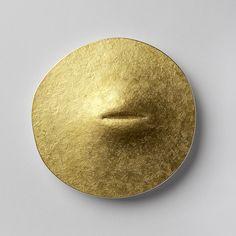 Per Suntum : 24k gold, silver, enamel