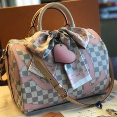 #Louis #Vuitton Damier Azur Speedy Bag. LV Tote Bag In 2017 With Big Discount.
