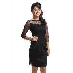 Begin101 Women's Black Dress