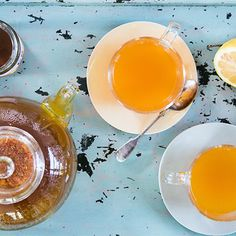 Try this Pep Up Tumeric Tea recipe by Chef Jasmine and Melissa Hemsley . This recipe is from the show Hemsley   Hemsley - Healthy