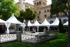 Expositores de la Feria de Artesanía de Salamanca donde estuvo #EsculturasMorla