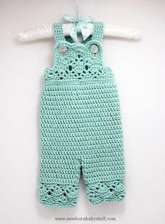 Crochet Child Gown Crochet Child Lady Overalls in Robins Egg Blue by LoopsInBloom Crochet Baby Dress