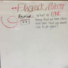 It's a flashback kind of Friday. Even though I want/need to flash forward to spring break... #miss5thswhiteboard #teachersfollowteachers
