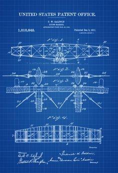 6034b9bd 1911 Flying Machine Patent Print - Vintage Airplane, Airplane Blueprint,  Airplane Art, Pilot Gift, Aircraft Decor, Airplane Poster