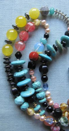 CHUNKY LONG 20 Inch Multistrand by Igottahaveitnecklace on Etsy #etsyspecialt #integritytt
