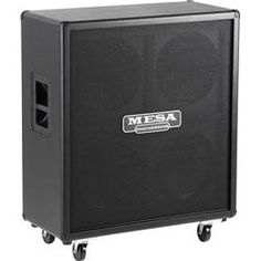 Mesa Boogie Rectifier 240W 4X12 Standard Guitar Speaker Cabinet Black Straight