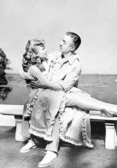 Ann Blyth and William Powell for Mr. Peabody and the Mermaid (1948)