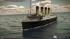 Resurrected: The Titanic II will be built 883 feet long ¿ 3 inches longer than the original Titanic¿ and weigh 55,800 gross tons