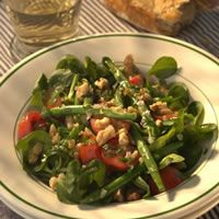 Warm Green Bean Salad with Toasted Walnuts
