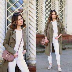 Paulina Rudnicka -  - White total look