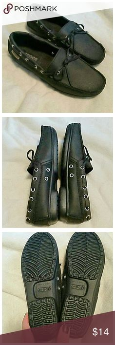 Crocs black loafers NEW Brand new without the box. CROCS Shoes Flats & Loafers