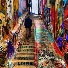 Valparaiso, Chile via @elanmizrahi