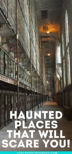 Looking for a good halloween fright? Look no further than some of the most haunted places in the United States. Get your scare on at some of the most haunted places that are sure to leave you shaking. babies flight hotel restaurant destinations ideas tips Most Haunted Places, Scary Places, Mysterious Places, Family Vacation Destinations, Travel Destinations, Family Vacations, Places To Travel, Places To Go, Ghost Tour