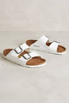 Nothing looks more fresh than white-on-white Birks. Bonus: They go with literally everything.