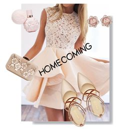 """Hoco!"" by turkey-ii ❤ liked on Polyvore featuring Nine West"