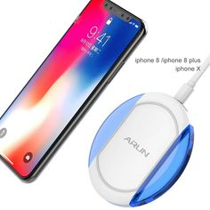 iPad Pro Air Rubyu Wireless Car Charger Adapter for iPhone X XS Xr Samsung Galaxy iPhone 8 Powerbank
