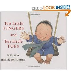 Fishpond Australia, Ten Little Fingers and Ten Little Toes [Board book] by Helen Oxenbury Mem Fox. Buy Books online: Ten Little Fingers and Ten Little Toes [Board book], ISBN Helen Oxenbury Mem Fox Chubby Babies, Little Babies, Toddler Books, Childrens Books, Great Books, My Books, Amazing Books, Quiet Books, Baby Storytime
