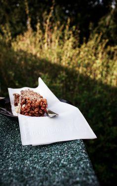 Rice krispie treats, a little healtier recipe. photography food styling from ninasbaking.blogg.no