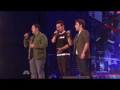 America's Got Talent Auditions Forte Tenor Singers, First ever public performance 06 29 2013 - YouTube