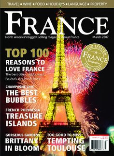 Informative, well-written articles combine with fine color pictures to create a fitting celebration of the French experience. Acclaimed by the French tourist board, French-language teachers and all who love that country, FRANCE is compulsive and essential reading for everyone interested in France.