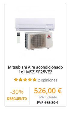 Aire acondicionado Mitsubishi MSZ-SF25VE2