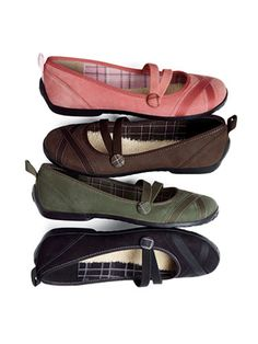 """<b>PRIVO BY CLARKS PUFFER FLAT,</b> $50. Pair your favorite skinny jeans with this elastic-strap ballet flat. Limited-edition details include pink topstitching and plaid lining, cuddly synthetic wool footbed, lucky Privo penny, and heel tab that echoes the universal ribbon loop emblem. $2 from each sale benefits the Breast Cancer Research Foundation. Available at <a href=""""http://www.privousa.com"""" target=""""_blank"""">privosusa.com</a>."""